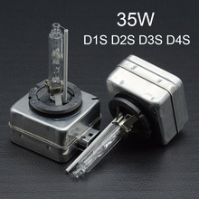 35W HID Xenon Bulb D1S D2S D3S D4S Auto Car Headlight Replacement kit 12V 4300K 5000K 6000K 8000K 10000K 12000K