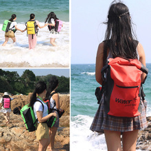 25L Waterproof Dry Backpack Rucksack Kayak Canoe Boat Surfing Bag for Swimming Snorkeling Diving Kayaking Boating Canoeing