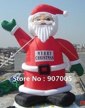 DD17 10mH 33' Huge Commercial Airblown Inflatable Santa Claus Xma Party Decoration + 1 CE/UL Blower + Repair Kids(China)