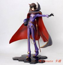 Promotional sell 1pcs POP Code Geass Zero pvc figure toy tall 28cm.