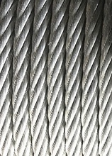 10MM, PVC coated 6X19+FC steel wire rope hot-dipped galvanized  anti-dust clothesline greenhouse cable hanging belt towing dragg