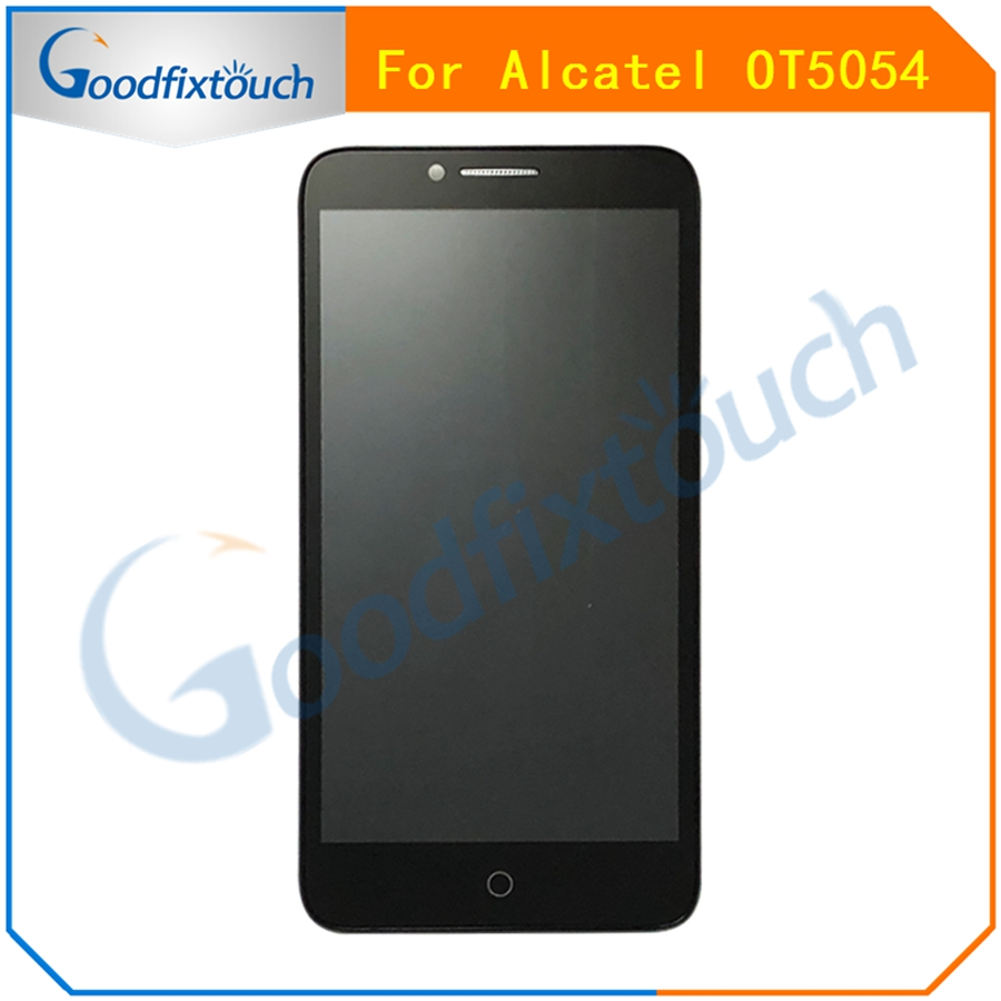 AT0207 For Alcatel One Touch Fierce XL OT5054 5054D 5054 5054N LCD Display Touch Screen Panel Digitizer Assembly With Frame  (1)