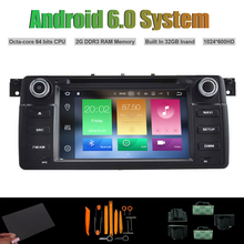 Android 6.0 Octa núcleo REPRODUCTOR de DVD DEL COCHE para BMW E46 M3 1998-2005 AUTO Radio STEREO RDS WIFI 32G Flash(China)