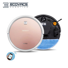 Robot Vacuum Cleaner ECOVACS DEEBOT DN620 WIFI App Remote Control, 1000Pa Vaccum 55DB, 600ml Dust Bin, 300ml Wet Mopping