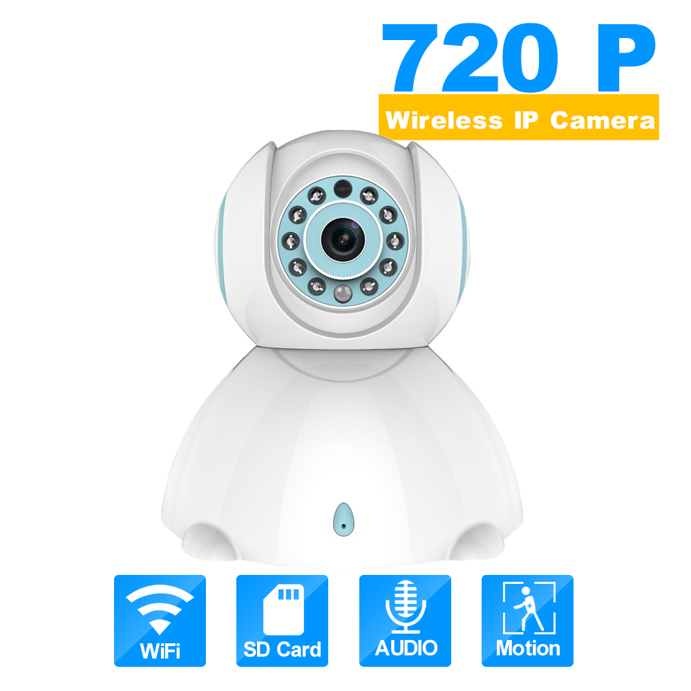 HD 720P Mini Wifi IP Camera Wireless P2P Baby Monitor Network CCTV Security Camera Home Mobile Remote Camera<br>