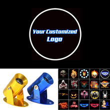 Your Customized Logo Motorcycle Ghost Shadow Spotlight Laser Projector LED Light Universal New