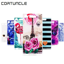 Buy COATUNCLE Fundas Sony Xperia XZ1 Compact Case, Soft TPU Silicone Painted print Cartoon Back Cover Sony XZ1 Compact Case for $1.40 in AliExpress store