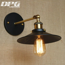 Vintage Wall Led Lamp Loft Antique Swing Long Arm lights Classic Sconce for Home Indoor Bedside Up Down Bed Reading Retro(China)