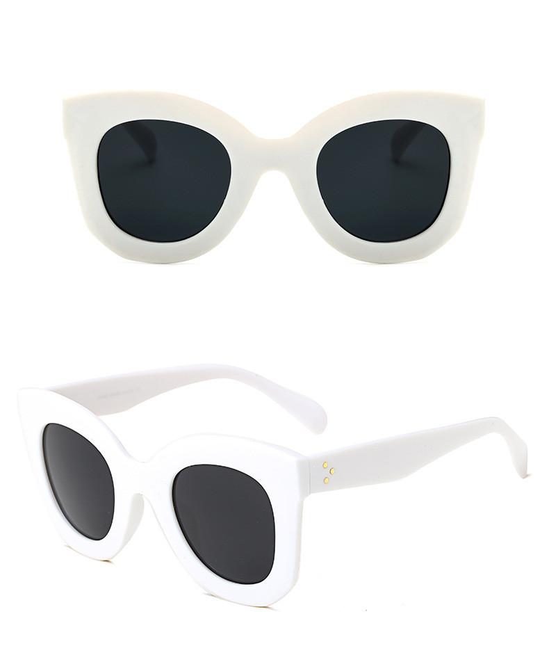 Luxury Cat Eye Sunglasses Women Brand Designer Retro Vintage Sun Glasses Women Female Ladies Sunglass Mirror Lunettes de soleil (17)