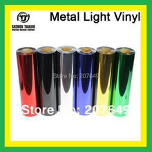 "TJ high-quality Metal light heat transfer vinyl width is 0.5meter(20"") one meter hot sales"