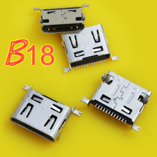 Jing Cheng Da Micro USB jack connector socket/ for LG /short 12P/12pins phone charging tail port/ dip/ 30pcs/lot(China)