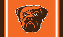 Cleveland Browns Logo Flags 3ftx5ft Banner 100D Polyester Customized Flag Metal Grommets 90x150cm