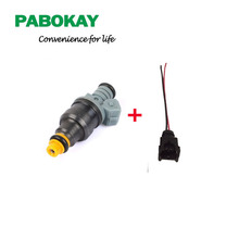 1 piece x High performance 1600cc CNG fuel injector 0280150842 for ford racing car truck with wire plug(China)