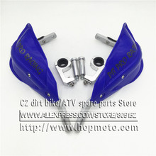 "Motorcycle Motorcross Dirt Bike Handlebar Plus a large Gauntlets Fit EXC CRF YZF KXF KTM 7/8"" 22mm Or 1-1/8 28mm Fat Bar"
