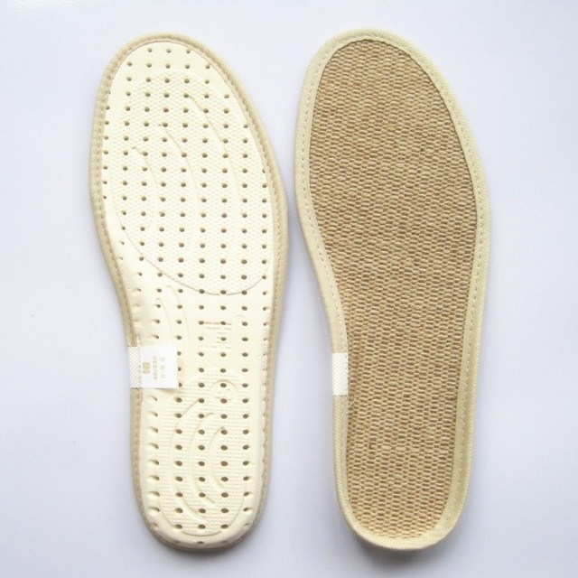 Jute EVA Insole Non-slip Linen Insole Durable Comfort Flax Absorbent  Breathable Unisex Sports Insoles Deodorant<br><br>Aliexpress