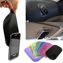 Car Anti Slip Mat Magic Sticky Pad Mobile Phone Holder Car Dashboard Silica Gel Sticky Pad Anti-Slip Mat For GPS MP3 MP4 Holder(China)