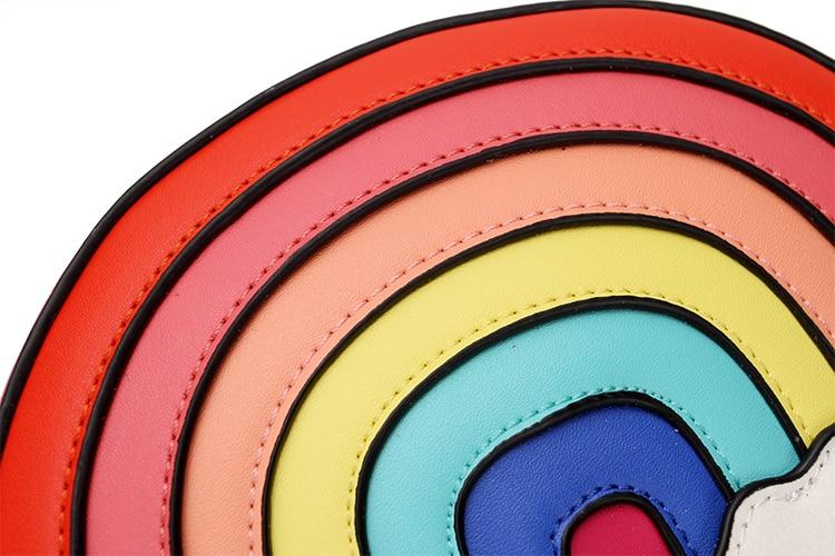 Cute Rainbow Shoulder Bag