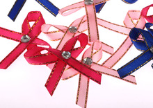 Fashion 4.5X4.5cm Hair Bows With Clips For Childrens Handmade Grosgrain Ribbon Hair bow Accessories 10pcs Free Shipping