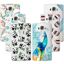 Fashion Design Soft TPU Case For LG G4 Transparent Soft Silicone Cover Phone Cases For LG G4 G 4 H810 H815 VS986 LS991 F500