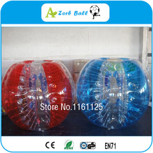 Free shipping 1.2m TPU inflatable human hamster ball,crazy loopy ball for outdoor fun & sports,bumper ball soccer, loopy ball(China)