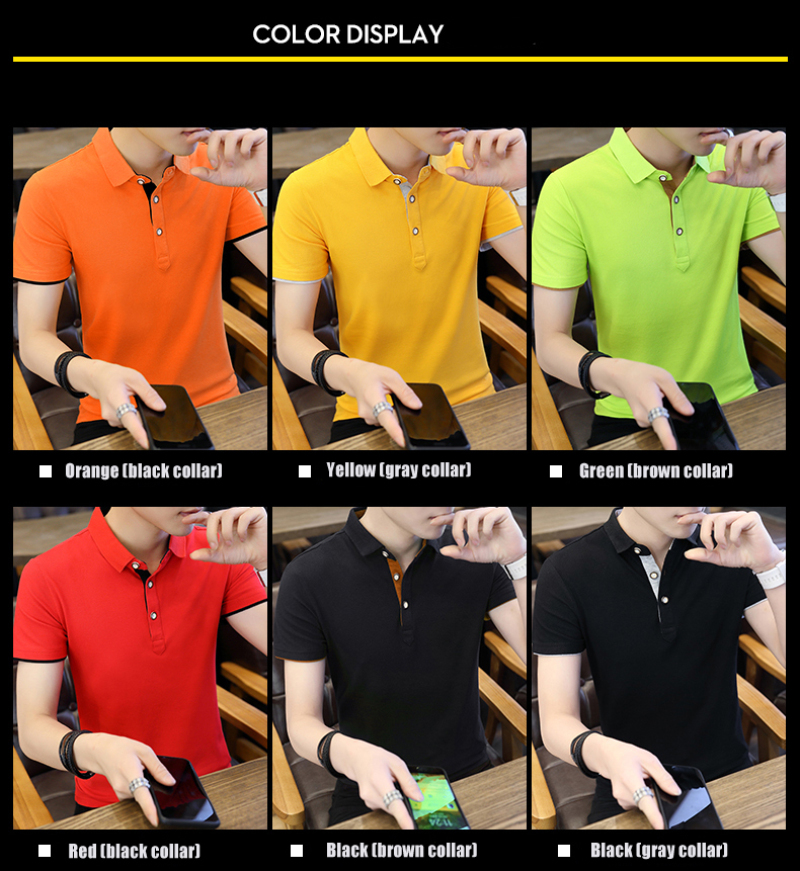SD Polo Shirts Men 2018 New Arrivals Casual Male Polo Shirts Breathable Cotton Tops High Quality Solid camisa Polos Homme 413 10