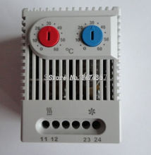 ZR011 ( 0~60 Degree ) Compact Adjustable Dual Thermostat Temperature Controller(China)