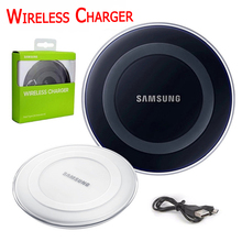 Original QI Wireless Charger Charging Pad EP-PG920I For iPhone X 8 Plus For Samsung Galaxy Note 8 Note5 S6 S7 Edge S8Plus S8(China)