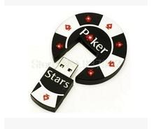 100% Full capacity novelty poker usb 2.0 flash dirve usb flash drive 1G 2G 4G 8G 16G 32G 64G novelties gift souvenir hot sale S9(China)
