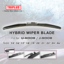 "Hybrid Wiper Blade for U HOOK 14"" 16"" 17"" 18"" 19"" 20"" 21"" 22"" 24"" 26"",Windscreen Wiper J HOOK Windshield Hybrid Wiper Blade 1 pc(China)"