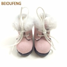 BEIOUFENG BJD Doll Shoes High Boots for Dolls,3.2CM Sneakers for Dolls,Causal Canvas Shoes for Blythe Doll Toy 6 Pair/Lot(China)