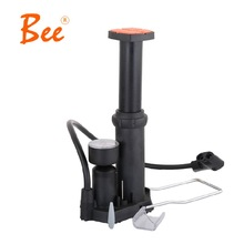 Free Shipping High Pressure Mini Portable Foot Type Foot Cycling Pump Pressure Gauge Bike Inflator Cycling Inflator