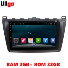 2G+32G Android 6.0 Car DVD GPS for Mazda 6 2007-2012 Autoradio GPS 1 din in Dash Car Radio GPS Multimedia Car Head unit
