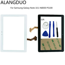 ANLANGDUO Replacement For Samsung Galaxy Note 10.1 N8000 P5100 Touch Screen Digitizer Assembly For Samsung Front Screen Glass