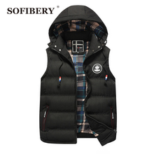 SOFIBERY Winter Men's Vests  Men's Vest Jackets Men's Thick coat vests QZ988-4