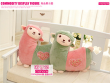 Alpaca Pillow Lovely Doll Birthday Gift 40cm Size Good Price Plush Toy Staffed Animal Free Shipping MXE-YT(China)