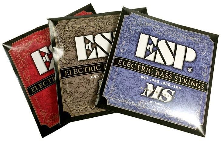 ESP BS-20HB /BS-30HB /BS-20MS Bass Guitar Strings<br>