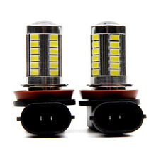2pcs H11 LED Light 5630 33SMD Fog Light Driving DRL Car Light for Chevrolet Cruze Camaro Sonic Spark Equinox 2013-2015