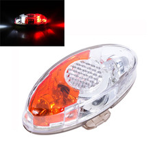 Super Bright 4 LED Safety Rear Seat Light Lamp for Bike Cycling Bicycle Helmet  Outdoor Bike Bicycle Cycling Accessories Apr 26