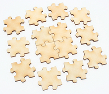 Buy 50pc wooden puzzel 30mm card making scrapbook Christmas cracker DIY embellishment kids children handcrafts supplies Store) for $5.39 in AliExpress store