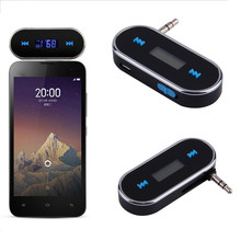 Wireless 3.5mm FM Transmitter Car Charger Radio FM Transmitter For transmitter iPhone/ iPad/ Cell Phones(China)