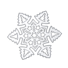 Nice Snowflakes Pattern Carbon Steel DIY Cutting Die Decor Scrapbooking Photo Album Embossing Home Decor Crafts Paper Cards