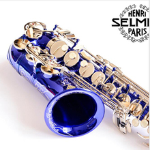 Fast Shipping DHL/UPS France Selmer SAS-R54 Alto Saxophone R54 Professional Eb Blue Sax Mouthpiece With Case and Accessories
