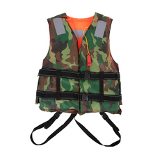 Professional Adult Life Jacket Polyester Life Vest Survival Vest for Water Sports Swimming Drifting Surfing Safety Sportswear(China)