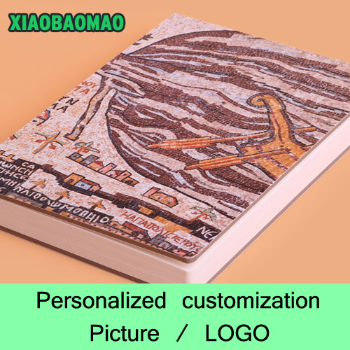 commission Customized Notebook A5 Sketchbook / Handbook Personalized Stationery Gift Photo / Image / LOGO on the cover<br>