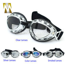 helmet motorcycle goggle vintage biker goggle wholesale and retail bike glasses helmet goggles sunglasses