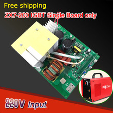 Free shipping of welding machine card  MMA 200 IGBT  Single board cheap price hot sales welder equipment kit