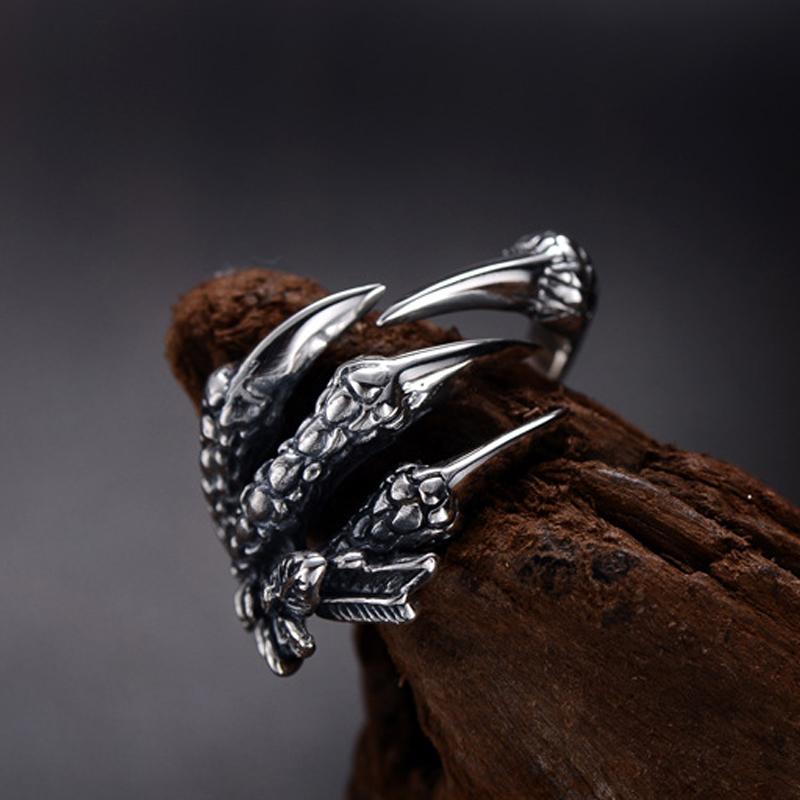 แหวนสวยๆ Code 039 แหวนDragon Claw สแตนเลส13