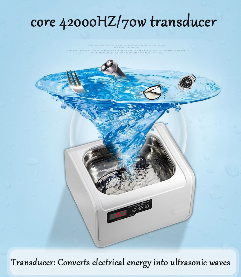 JIQI 1.4L Smart Ultrasonic cleaner Intelligent Digital ultrasonic Jewelry Glasses Circuit Board cleaning machine Bath 110V 220V