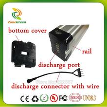 24V 12AH bottom discharge electric bike battery lithium batter rechargeable battery bottom discharging with BMS and charger(China)