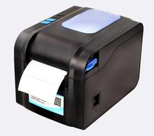 thermal bar code non-drying label printer clothing tags supermarket price sticker printer Support for printing 22-80 mm width
